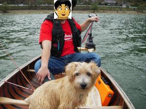 カヌー犬うずまき